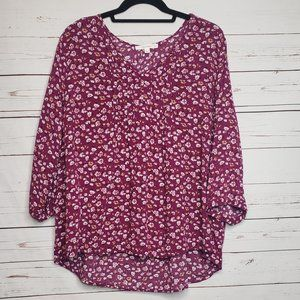 Stitch Fix Fun 2 Fun Plus Size Floral Top